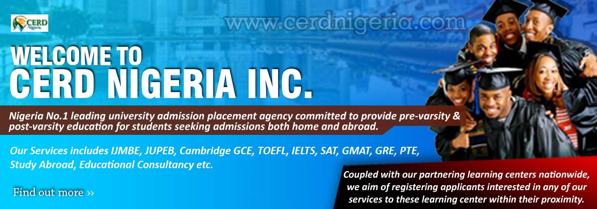 Welcome to CERD NIGERIA INC.
